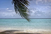 Vista panorâmica das maldivas — Foto Stock