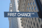 First chance Avenue — Stock Photo