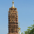 Construction of the bell tower — Stock Photo