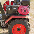 Stock Photo: Engine of cultivator
