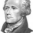 Alexander Hamilton portrait — Stock Photo #8001614
