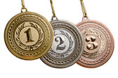 Set of medals — Stock Photo