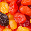 Dried fruit background - Stock Photo