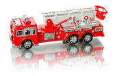 Miniature fire truck — Stock Photo