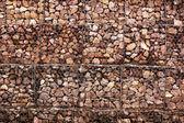 Parede de pedra — Fotografia Stock