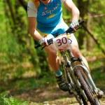 Постер, плакат: Mountain bike competition