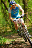 Mountain bike wettbewerb — Stockfoto