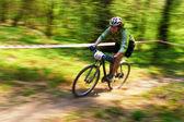 Mountain bike konkurrens — Stockfoto