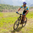 Mountain bike cross-country race — Stock Photo #10164631