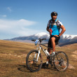 Mountain bike adventure competition — Stock Photo #10164769