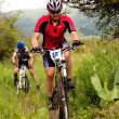 Summer mountain bike competition — Stock Photo #10165014