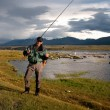 Fishing in Mongolia — Stock Photo #10191179