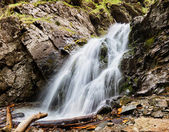 Waterfall in Tien-Shan mountains, Kazakstan — Stock Photo