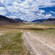 Roads in Mongolia — Stock Photo