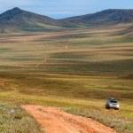Roads in Mongolia — Stock Photo