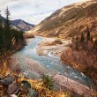 Chilik river in Kazakhstan — Stock Photo #8950772