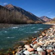 Chilik river in Kazakhstan — Stock Photo