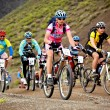 Adventure mountain bike competition — Stock Photo #9140592