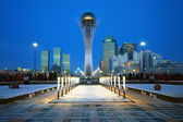 Cidade de astana - capital do cazaquistão — Fotografia Stock
