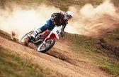 Motocross — Zdjęcie stockowe