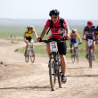 Spring mountain bike marathon — Stock Photo #9192027