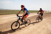 Spring mountain bike marathon — Photo
