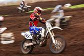 Motorcross concurrentie — Stockfoto