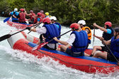Rafting competition — ストック写真