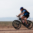 Spring mountain bike marathon — Stock Photo