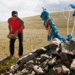 Stock Photo: Traveling tradition in Mongolia