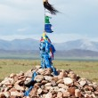 Sacred pass in Mongolia — Stock Photo