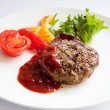 Grilled Veal Chop — Stock Photo #10345401