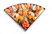 Sushi Set takudzho — Stock Photo
