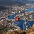 Ulriken in Bergen Norway — Stock Photo