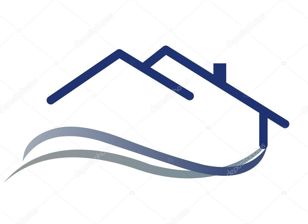 house logo stock vector turhanerbas 9460629. Black Bedroom Furniture Sets. Home Design Ideas