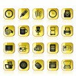Business and Office tools icons — 图库矢量图片