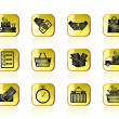Shipping and logistic icons — Stock Vector #10322164