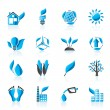 Environment and nature icons — Stock Vector