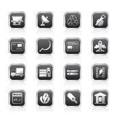 Näringslivet ikoner — Stockvektor