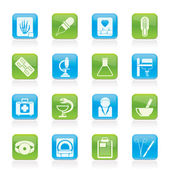 Healthcare and Medicine icons — Stock Vector
