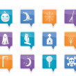 Halloween icon pack - Stock Vector