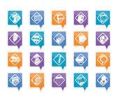 ícones de ferramentas de escritório — Vetorial Stock