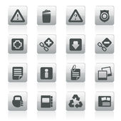 Web site and computer Icons — Stock Vector