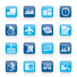 Royalty-Free Stock Imagen vectorial: Shipping and logistics icons