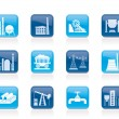 Heavy industry icons — Stock Vector #9743433