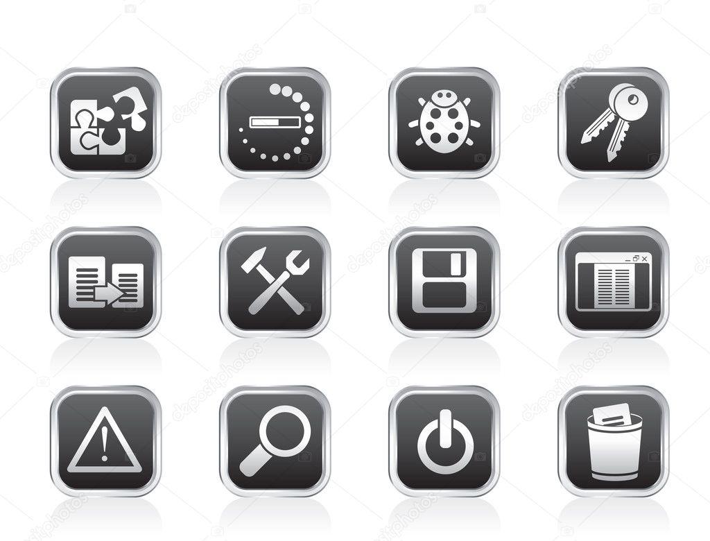 Иконки для разработчиков приложений