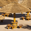 Palapa Huts - Stock Photo