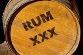 Rum fıçı — Stok fotoğraf