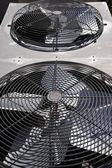 Condenser Fans — Stock Photo