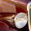 Stock Photo: Classic Car Detail
